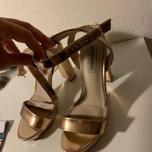 Steven Madden Rose Gold Heels